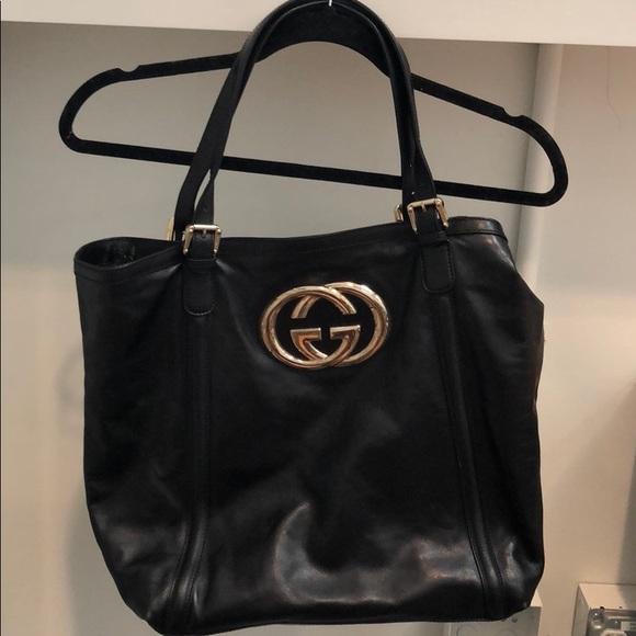 1ca9b485d10 Gucci Handbags - Authentic Gucci Britt Tote Large